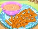 Sweet Potato Fries Cooking