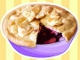 Apple White Apple and Blackberry Pie