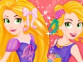 Now and Then Rapunzel Sweet Sixteen