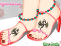Pretty Pedicure Design Part 2