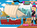 Teen Pirate Ship Wash
