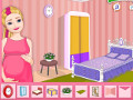 Pregnant Sparkle Room Decor
