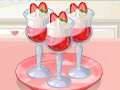 Saras Strawberry Parfait