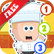 Free Kids Cooking Puzzle