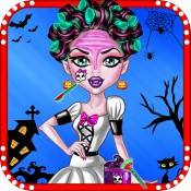 Halloween Monster High Makeover Salon