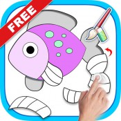 Kids Puzzles and Coloring Games